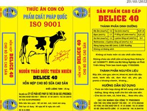 Bao PP dệt thức ăn cho bò